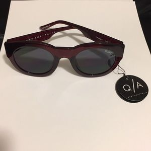 QUAY sunglasses IF ONLY BNWT